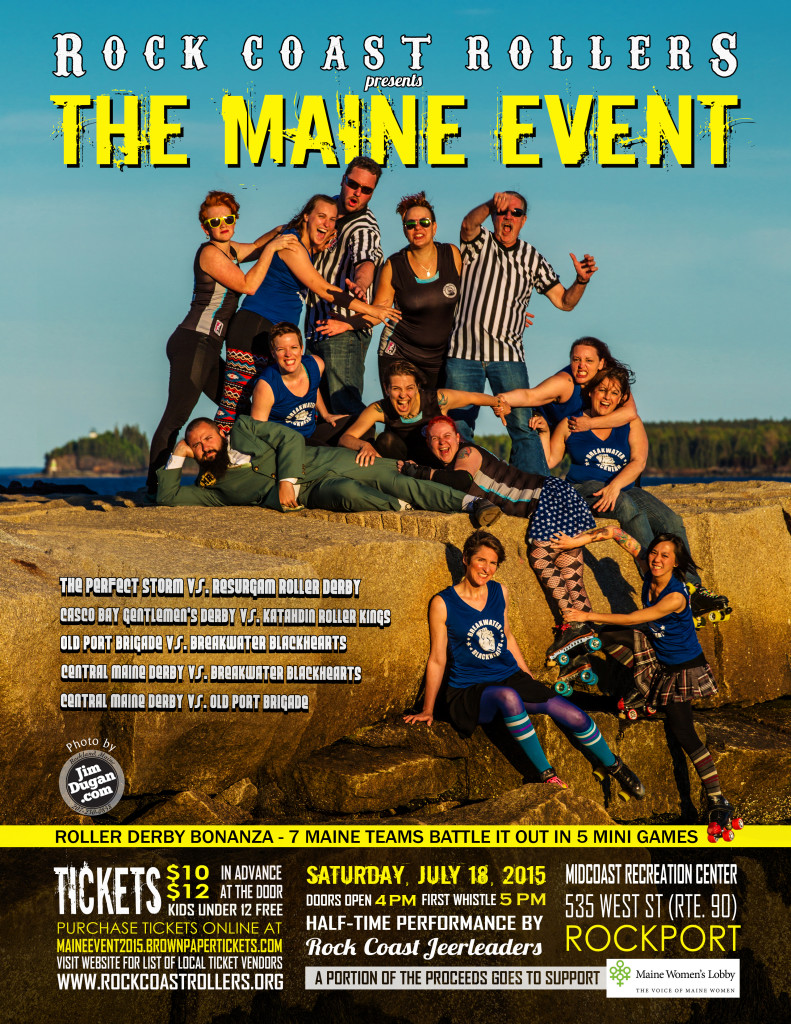 MAINE EVENT 2015 final poster